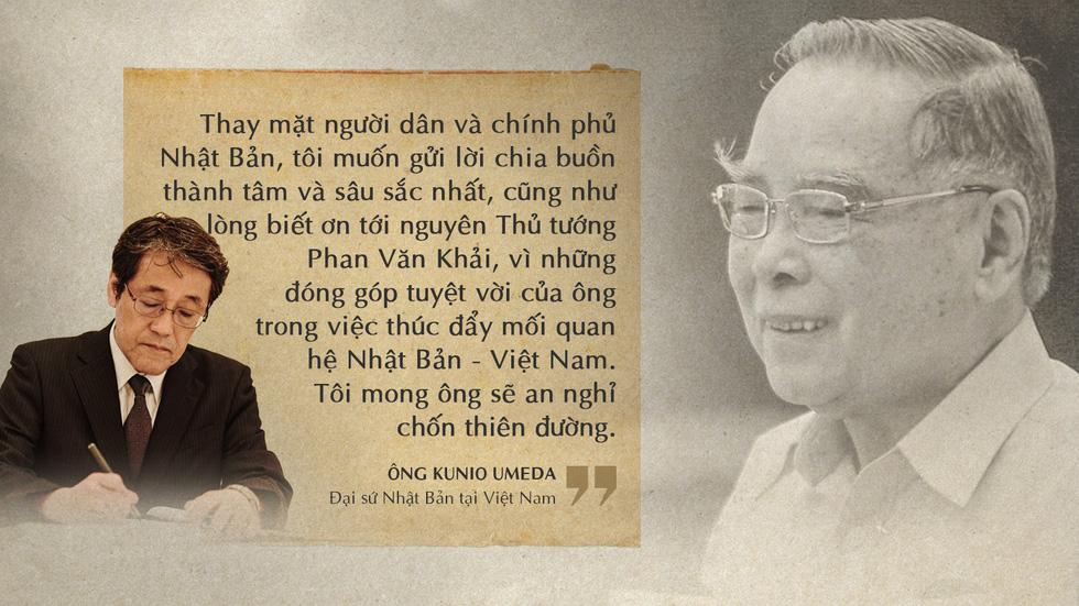 Lời tiễn biệt xúc động trong sổ tang cố Thủ tướng Phan Văn Khải - Ảnh 13.