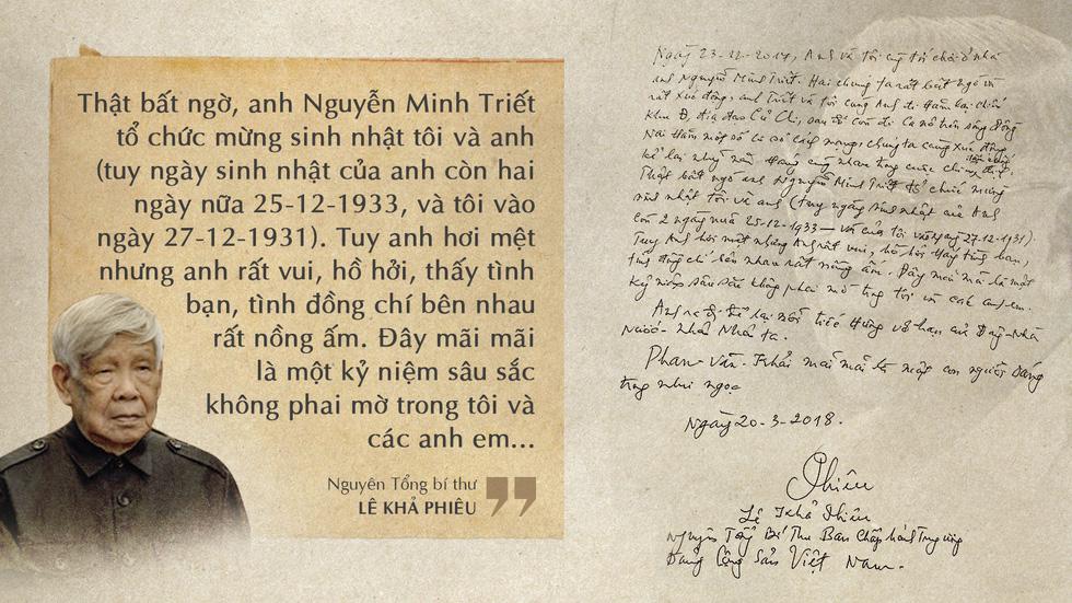 Lời tiễn biệt xúc động trong sổ tang cố Thủ tướng Phan Văn Khải - Ảnh 7.