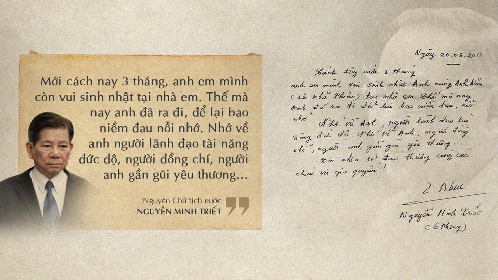 Lời tiễn biệt xúc động trong sổ tang cố Thủ tướng Phan Văn Khải - Ảnh 8.
