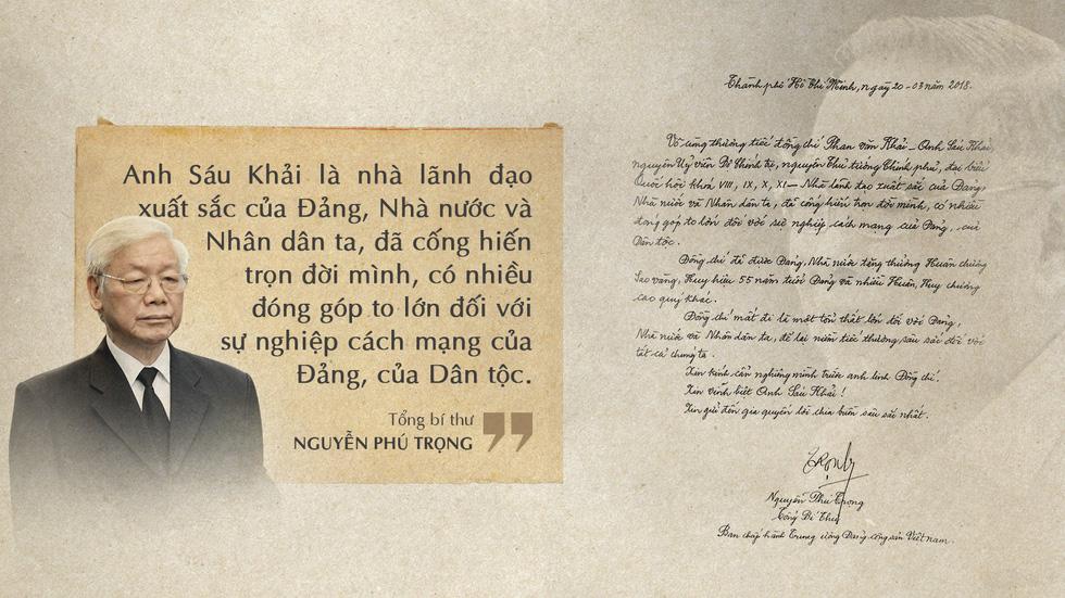 Lời tiễn biệt xúc động trong sổ tang cố Thủ tướng Phan Văn Khải - Ảnh 1.