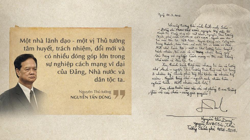 Lời tiễn biệt xúc động trong sổ tang cố Thủ tướng Phan Văn Khải - Ảnh 9.