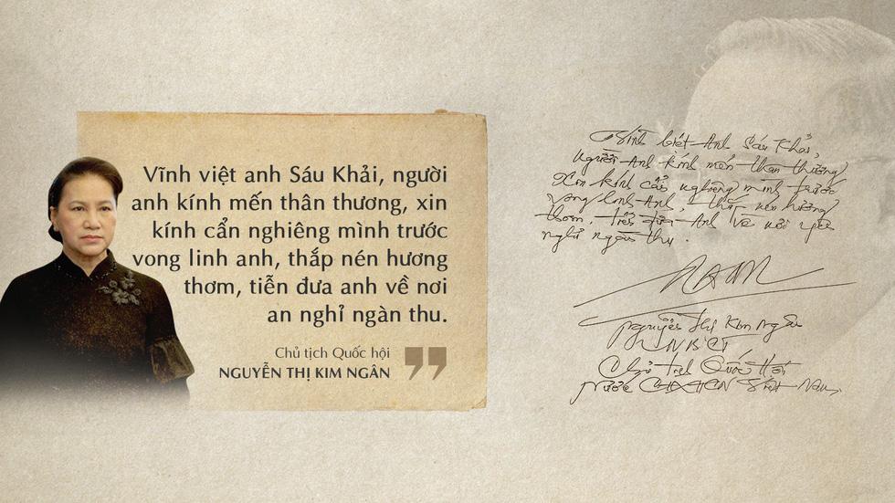 Lời tiễn biệt xúc động trong sổ tang cố Thủ tướng Phan Văn Khải - Ảnh 4.
