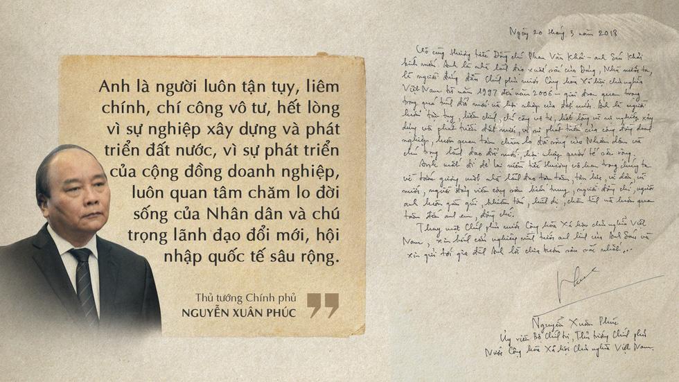 Lời tiễn biệt xúc động trong sổ tang cố Thủ tướng Phan Văn Khải - Ảnh 3.