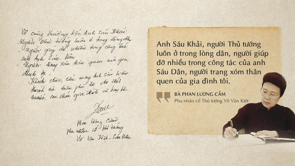 Lời tiễn biệt xúc động trong sổ tang cố Thủ tướng Phan Văn Khải - Ảnh 11.