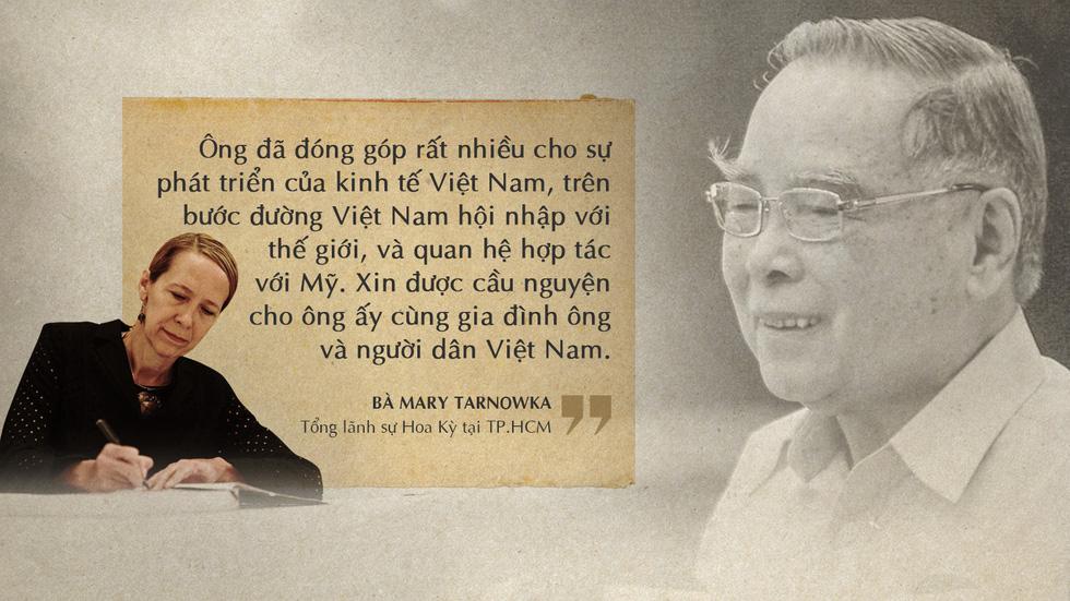Lời tiễn biệt xúc động trong sổ tang cố Thủ tướng Phan Văn Khải - Ảnh 15.