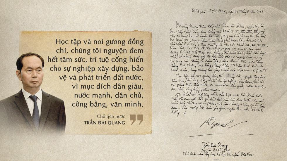 Lời tiễn biệt xúc động trong sổ tang cố Thủ tướng Phan Văn Khải - Ảnh 2.