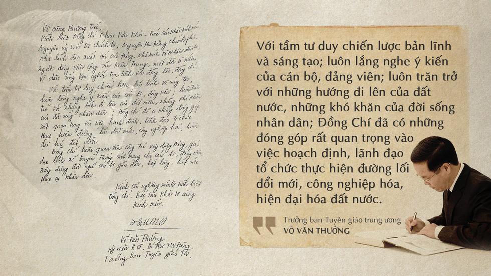 Lời tiễn biệt xúc động trong sổ tang cố Thủ tướng Phan Văn Khải - Ảnh 5.