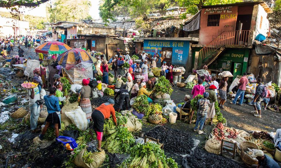 Những hình ảnh sống động từ Haiti - Ảnh 9.