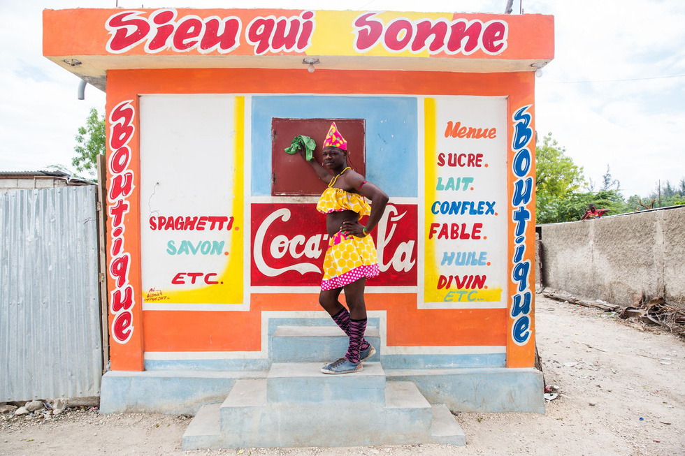 Những hình ảnh sống động từ Haiti - Ảnh 6.