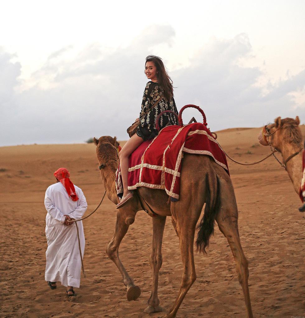 Đua xe trong sa mạc Dubai - Ảnh 1.