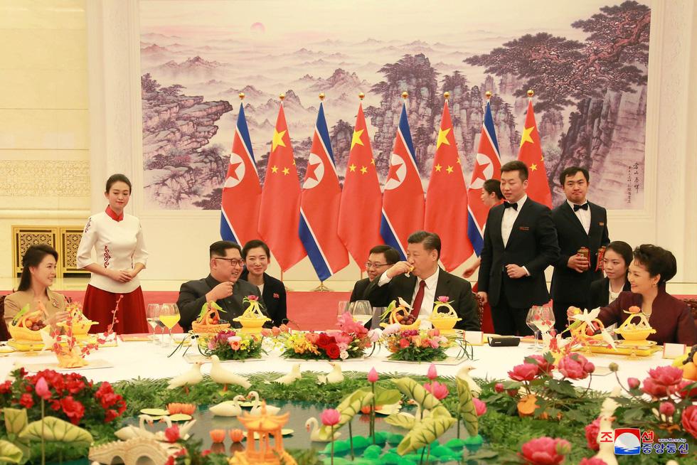 Hình ảnh chuyến thăm lịch sử của ông Kim Jong Un tại Trung Quốc - Ảnh 12.