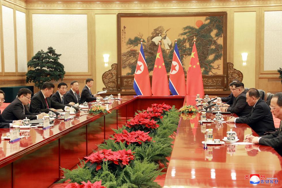 Hình ảnh chuyến thăm lịch sử của ông Kim Jong Un tại Trung Quốc - Ảnh 7.
