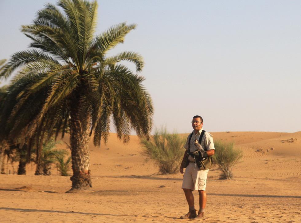 Đua xe trong sa mạc Dubai - Ảnh 3.