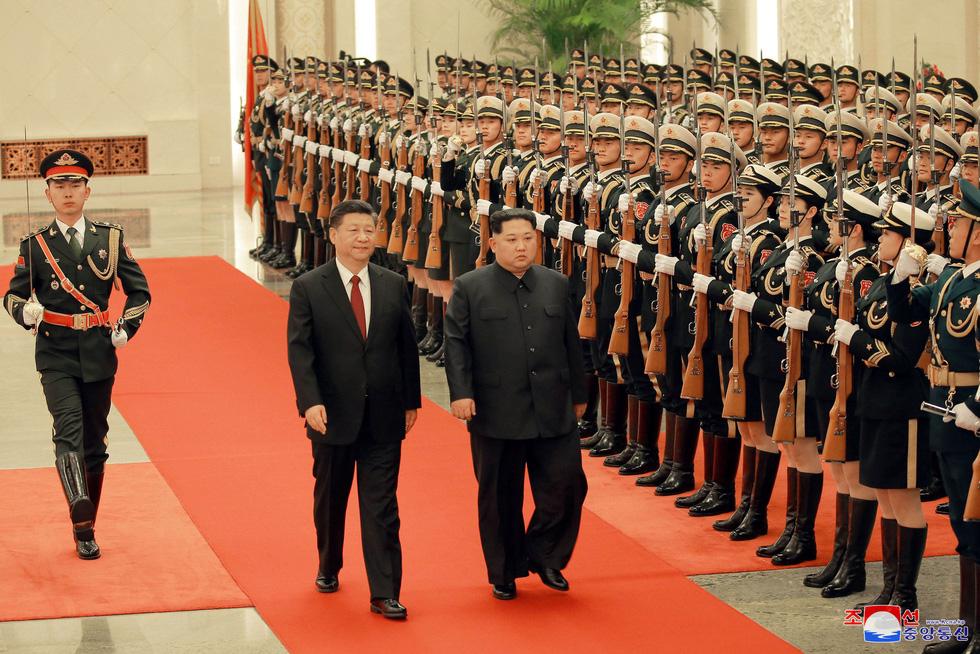 Hình ảnh chuyến thăm lịch sử của ông Kim Jong Un tại Trung Quốc - Ảnh 6.