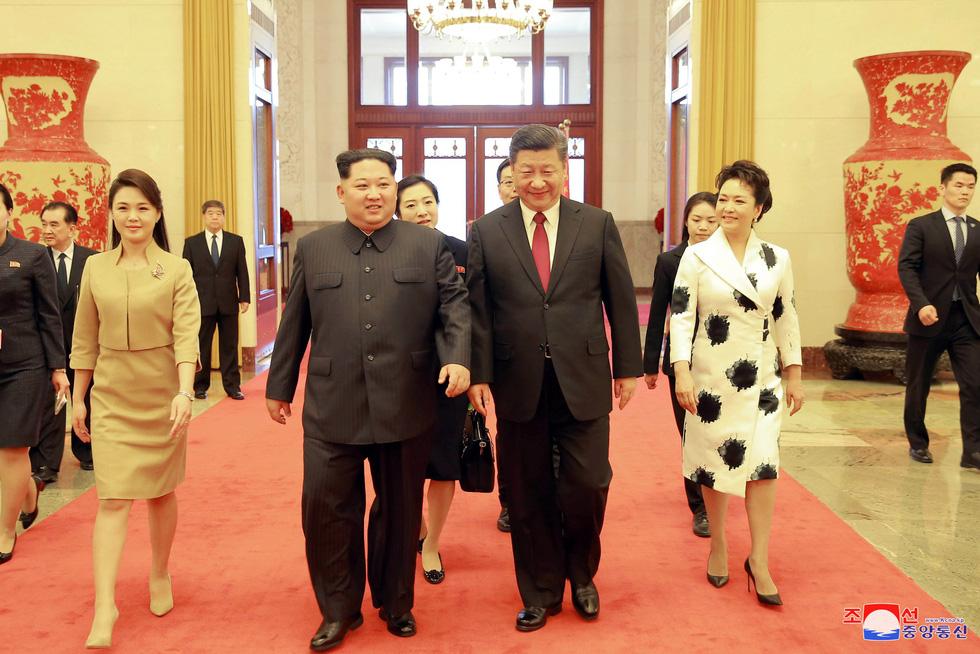 Hình ảnh chuyến thăm lịch sử của ông Kim Jong Un tại Trung Quốc - Ảnh 5.