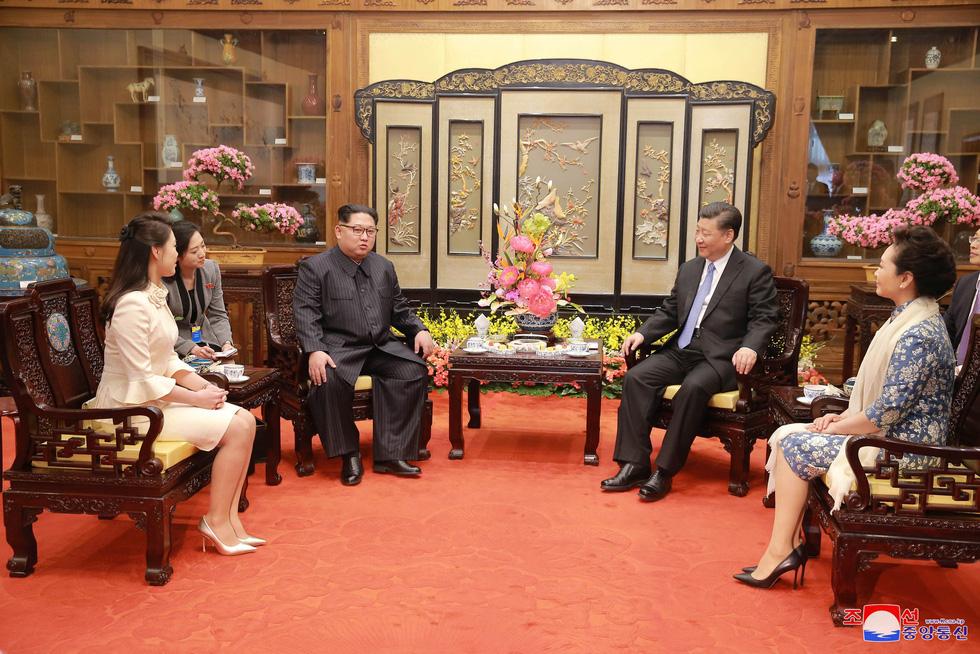 Hình ảnh chuyến thăm lịch sử của ông Kim Jong Un tại Trung Quốc - Ảnh 18.