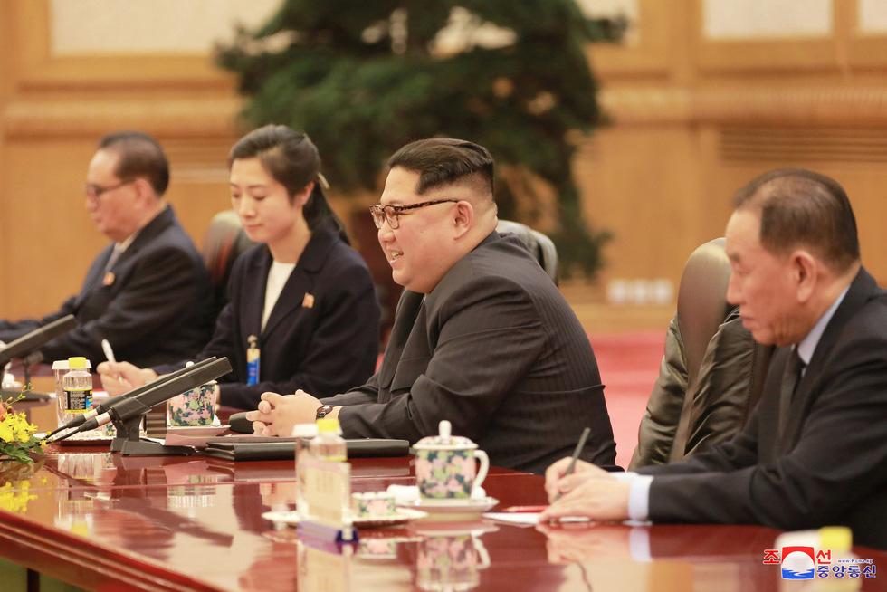 Hình ảnh chuyến thăm lịch sử của ông Kim Jong Un tại Trung Quốc - Ảnh 8.