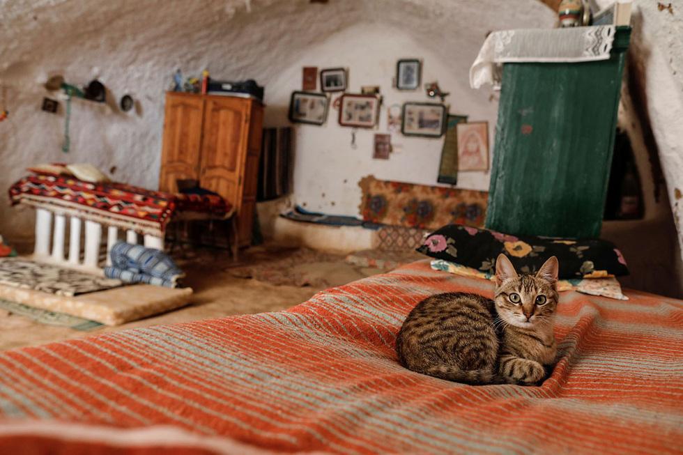 Cuộc sống của các gia đình dưới lòng đất ở Tunisia - Ảnh 8.