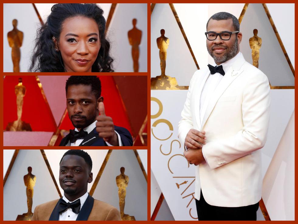 Oscar lần thứ 90 bắt đầu bằng thảm đỏ rực sắc màu - Ảnh 1.