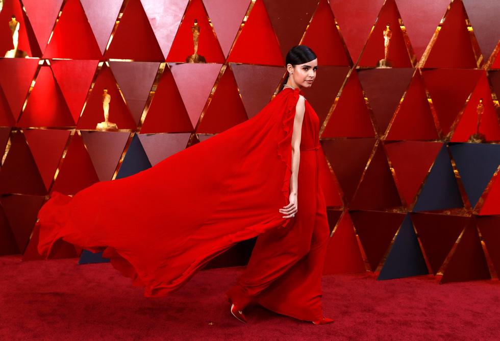 Oscar lần thứ 90 bắt đầu bằng thảm đỏ rực sắc màu - Ảnh 8.