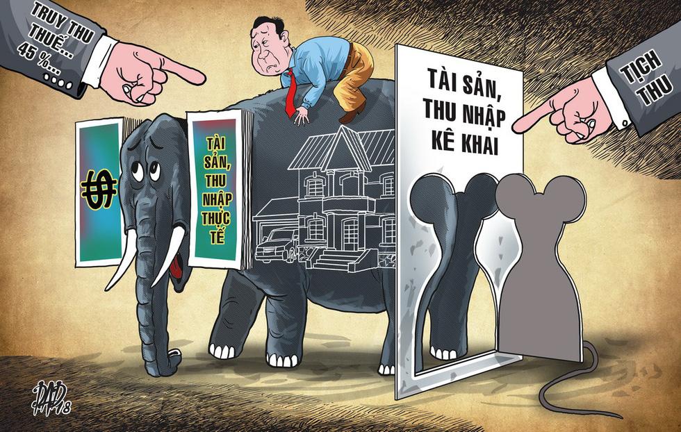 Tài sản bất minh: tịch thu hay đánh thuế rồi hợp thức hóa? - Ảnh 1.