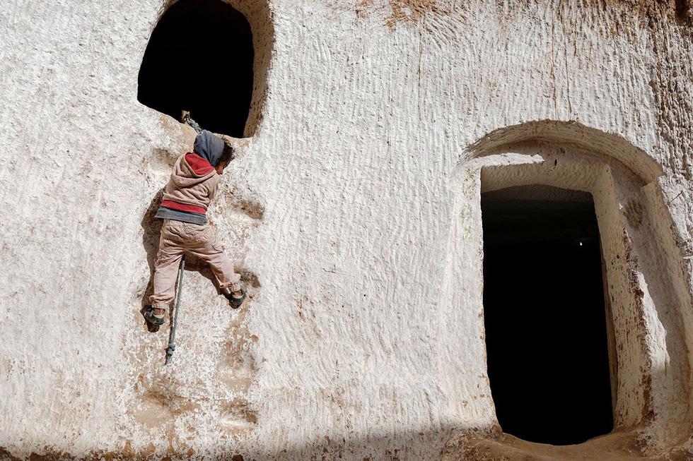 Những gia đình cuối cùng sống dưới lòng đất ở Tunisia - Ảnh 3.