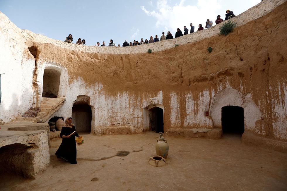 Những gia đình cuối cùng sống dưới lòng đất ở Tunisia - Ảnh 5.