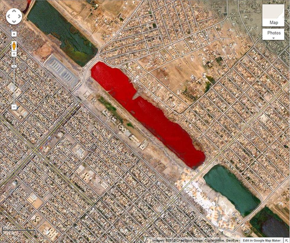 24 ảnh đảm bảo độc lạ từ Google Earth - Ảnh 12.