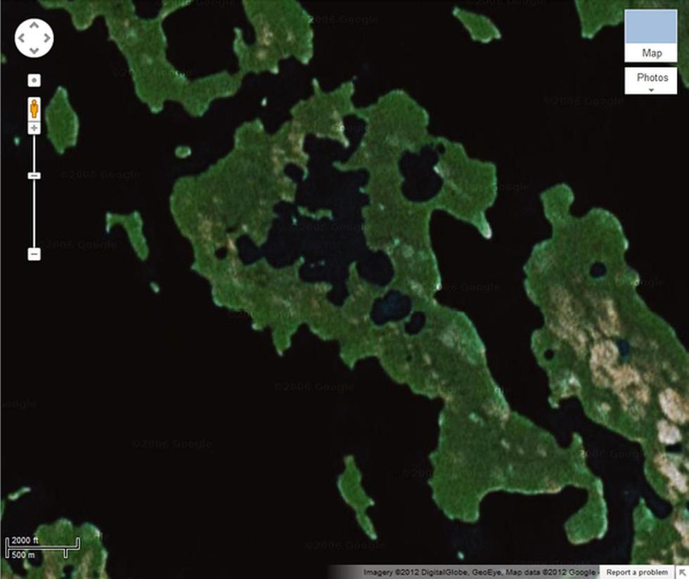 24 ảnh đảm bảo độc lạ từ Google Earth - Ảnh 14.