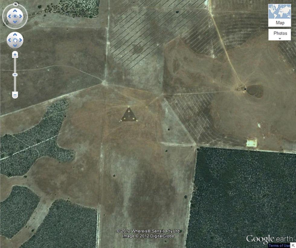 24 ảnh đảm bảo độc lạ từ Google Earth - Ảnh 23.