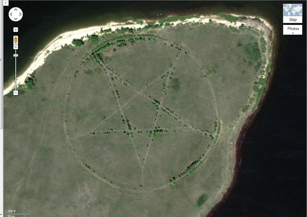 24 ảnh đảm bảo độc lạ từ Google Earth - Ảnh 8.