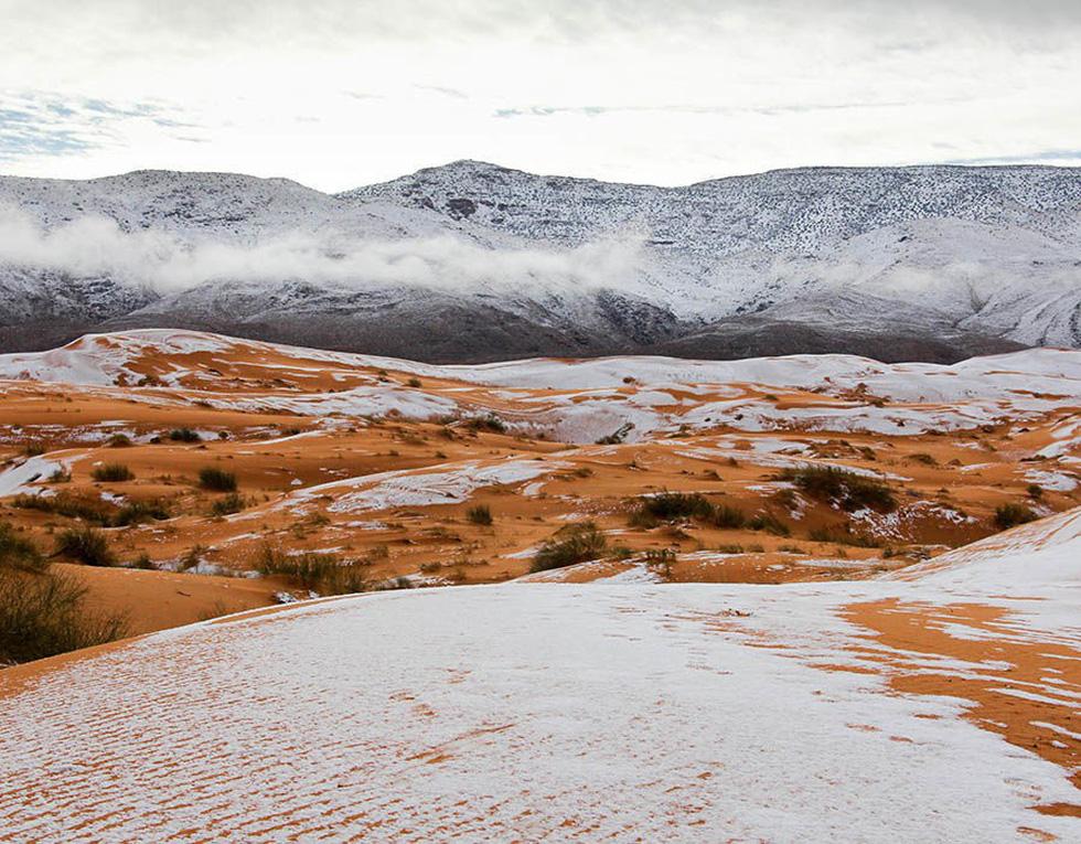Chuyện khó tin: tuyết rơi phủ trắng sa mạc Sahara - Ảnh 4.