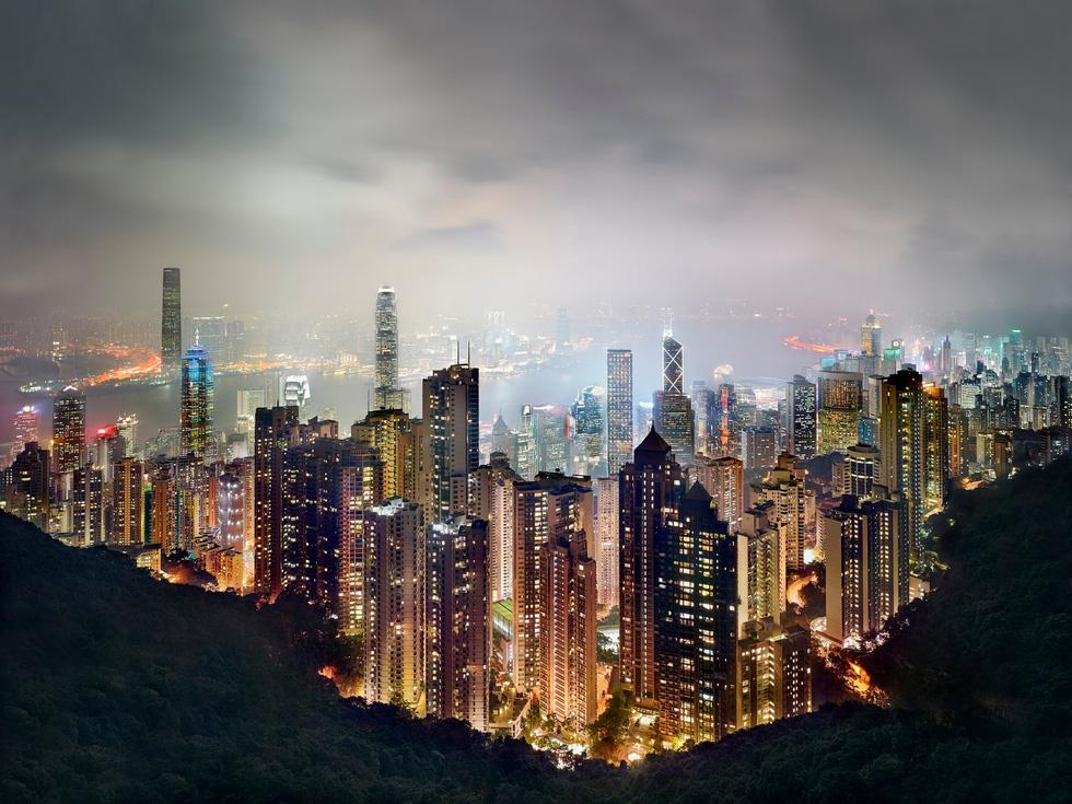 Ngắm ảnh các thành phố huyền thoại và rực rỡ về đêm - Ảnh 4.