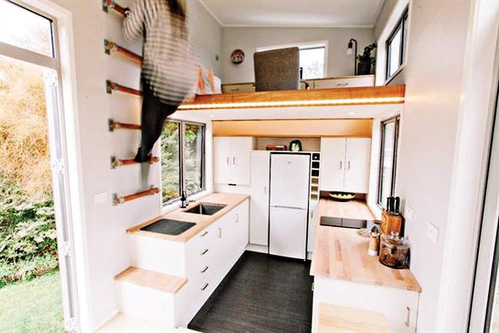 Ngắm nhà 15 m2 gắn cùng ô tô - Ảnh 2.