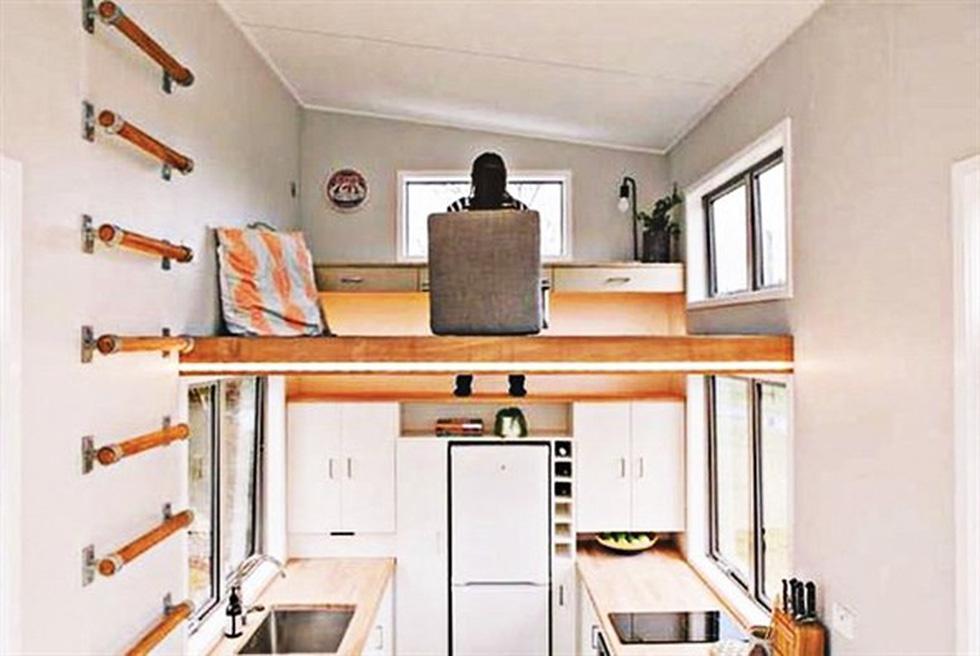 Ngắm nhà 15 m2 gắn cùng ô tô - Ảnh 3.