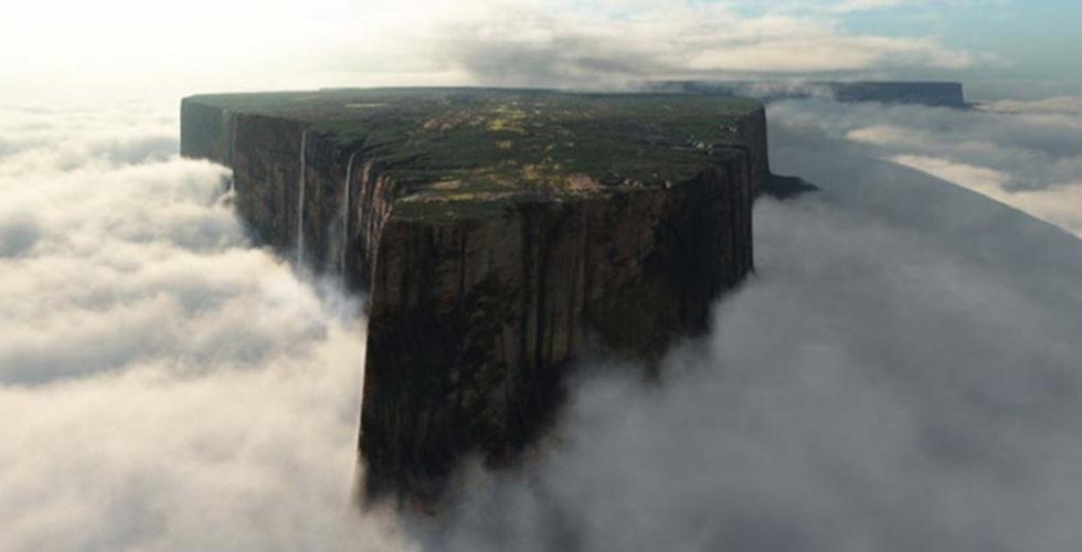 Hòn đảo trên trời kỳ ảo ở Venezuela - Ảnh 3.