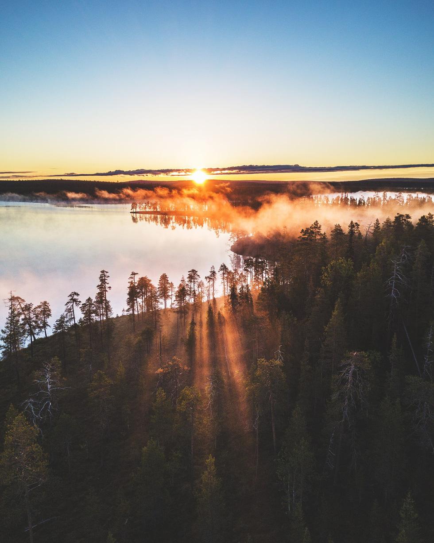 Đảo 'bốn mùa' Phần Lan đẹp mê hồn nhìn từ trên cao - Ảnh 10.