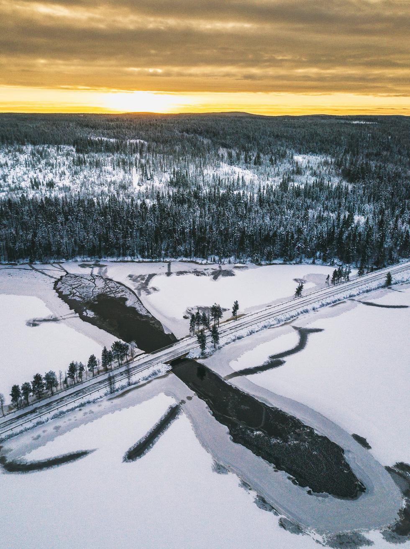 Đảo 'bốn mùa' Phần Lan đẹp mê hồn nhìn từ trên cao - Ảnh 15.