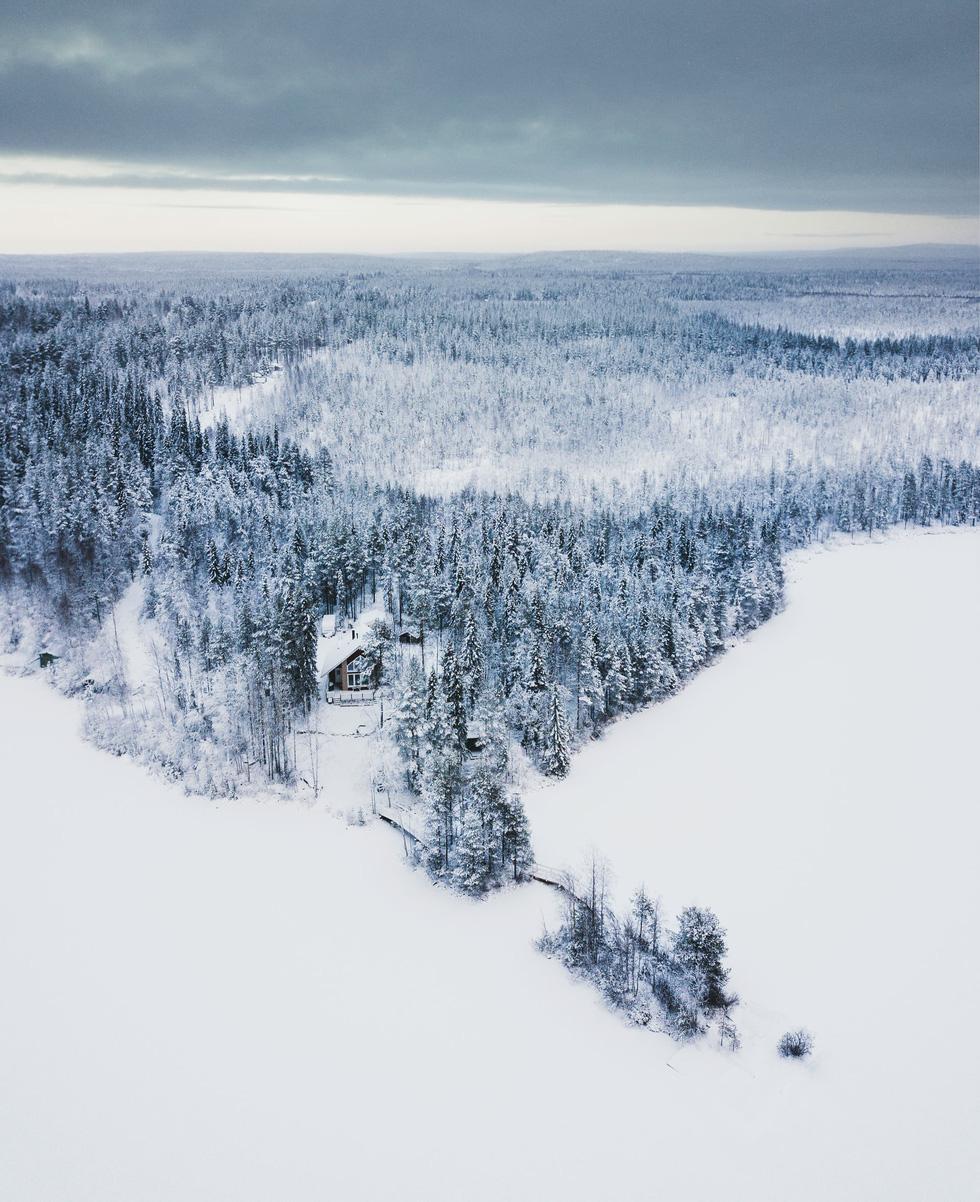 Đảo 'bốn mùa' Phần Lan đẹp mê hồn nhìn từ trên cao - Ảnh 16.