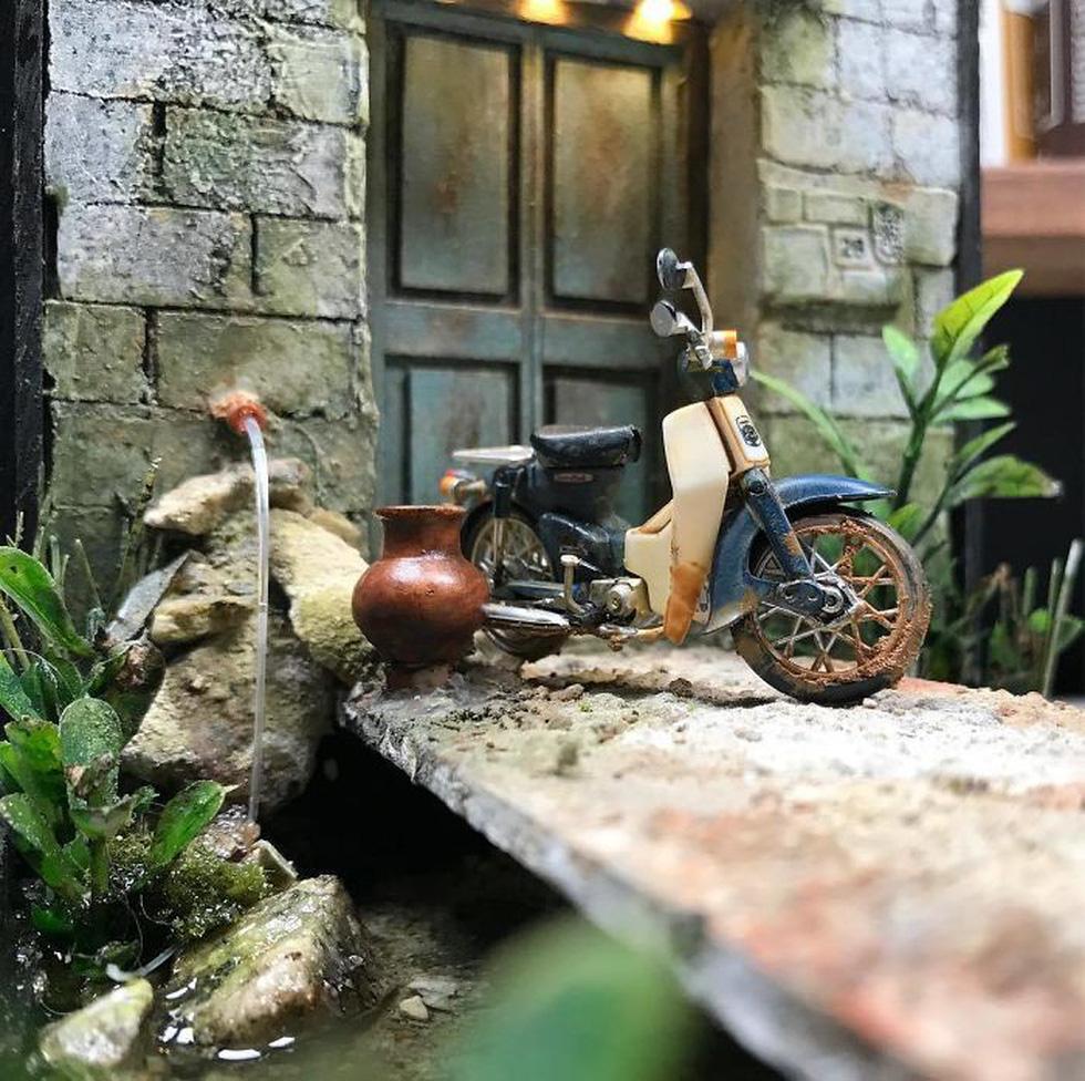 Đi ngược thời gian bằng mô hình siêu nhỏ của nghệ nhân Malaysia - Ảnh 9.