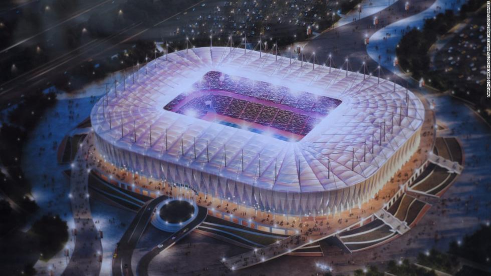 Tham quan các sân vận động diễn ra thi đấu World Cup 2018 - Ảnh 1.