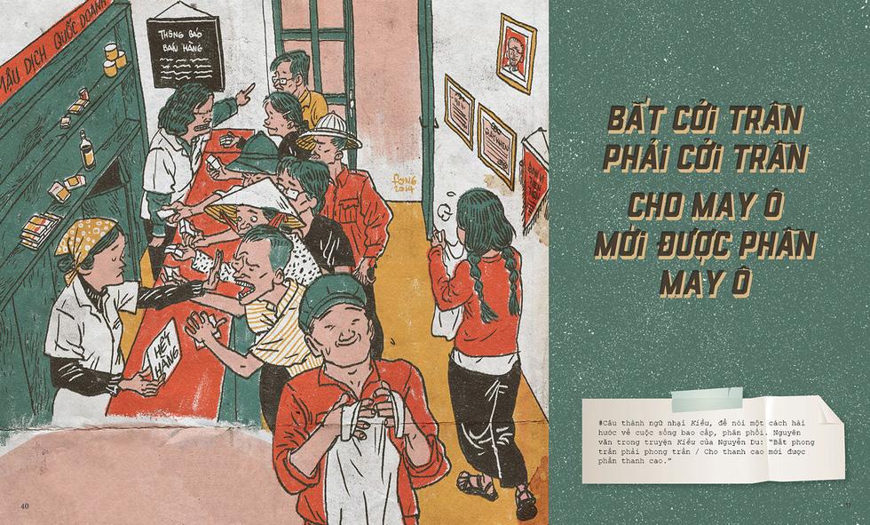 Thương nhớ thời bao cấp - sách tranh của Thành Phong và Hữu Khoa - Ảnh 7.