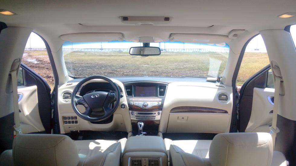 Cùng Infiniti QX60, xe ông chủ về thăm Công tử… - Ảnh 2.
