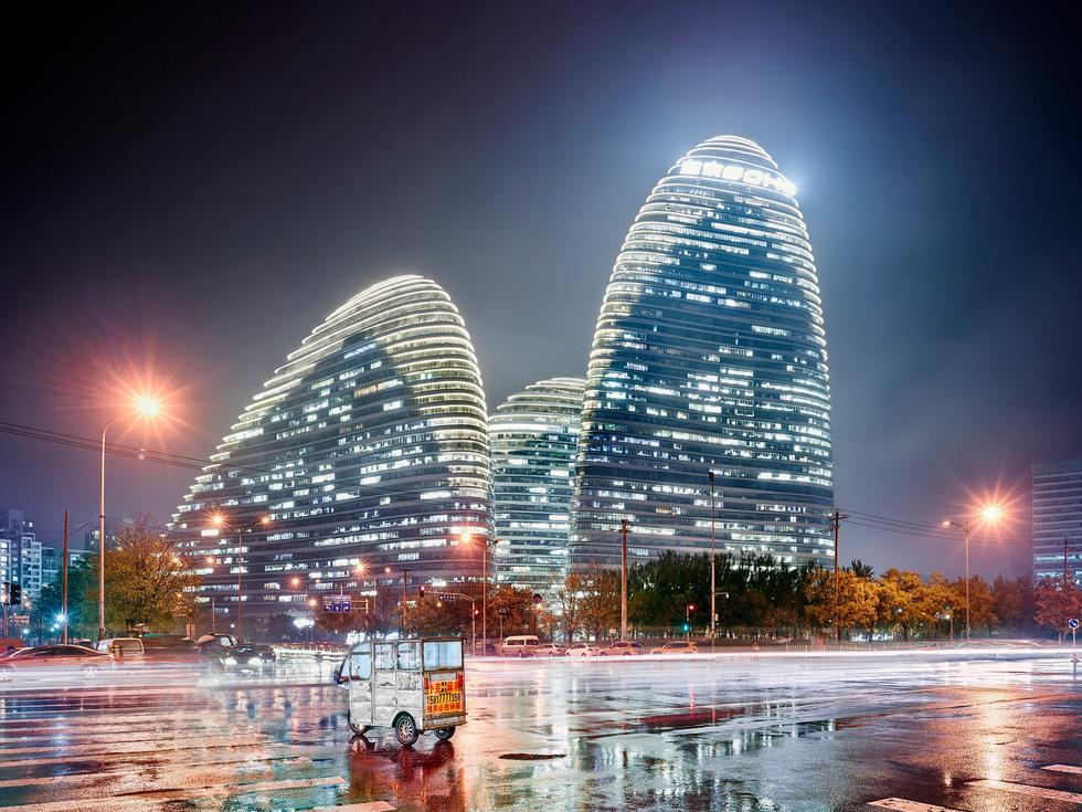 Ngắm ảnh các thành phố huyền thoại và rực rỡ về đêm - Ảnh 5.
