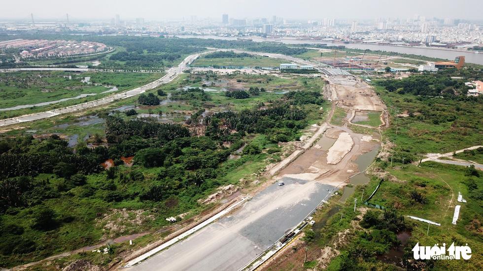 Cận cảnh 4 tuyến đường giá khủng 12.000 tỉ ở Thủ Thiêm - Ảnh 14.