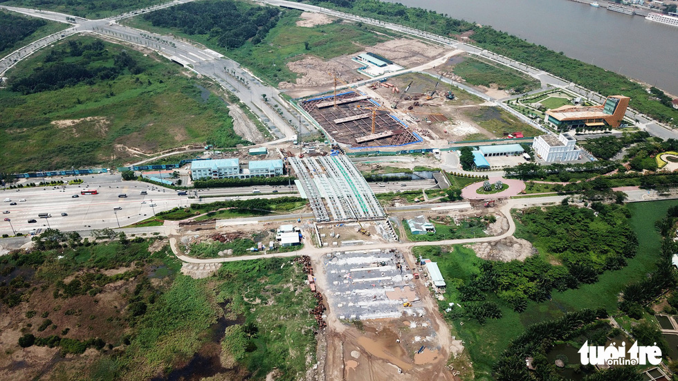 Cận cảnh 4 tuyến đường giá khủng 12.000 tỉ ở Thủ Thiêm - Ảnh 10.