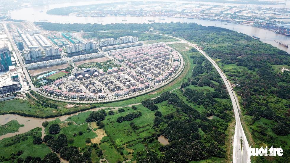 Cận cảnh 4 tuyến đường giá khủng 12.000 tỉ ở Thủ Thiêm - Ảnh 6.