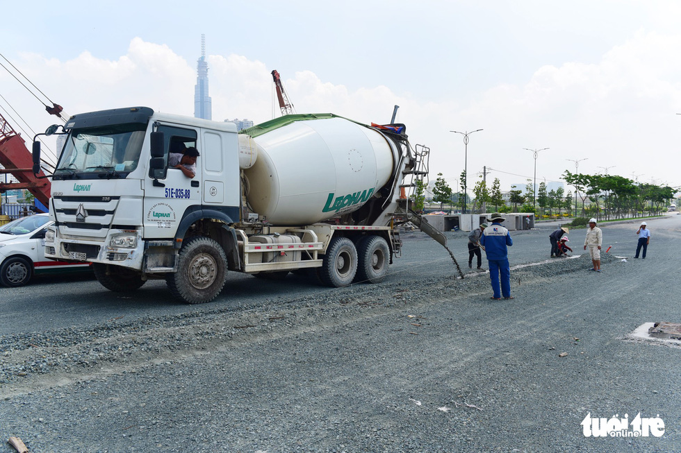 Cận cảnh 4 tuyến đường giá khủng 12.000 tỉ ở Thủ Thiêm - Ảnh 12.