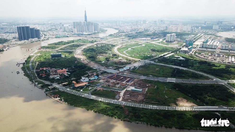 Cận cảnh 4 tuyến đường giá khủng 12.000 tỉ ở Thủ Thiêm - Ảnh 7.