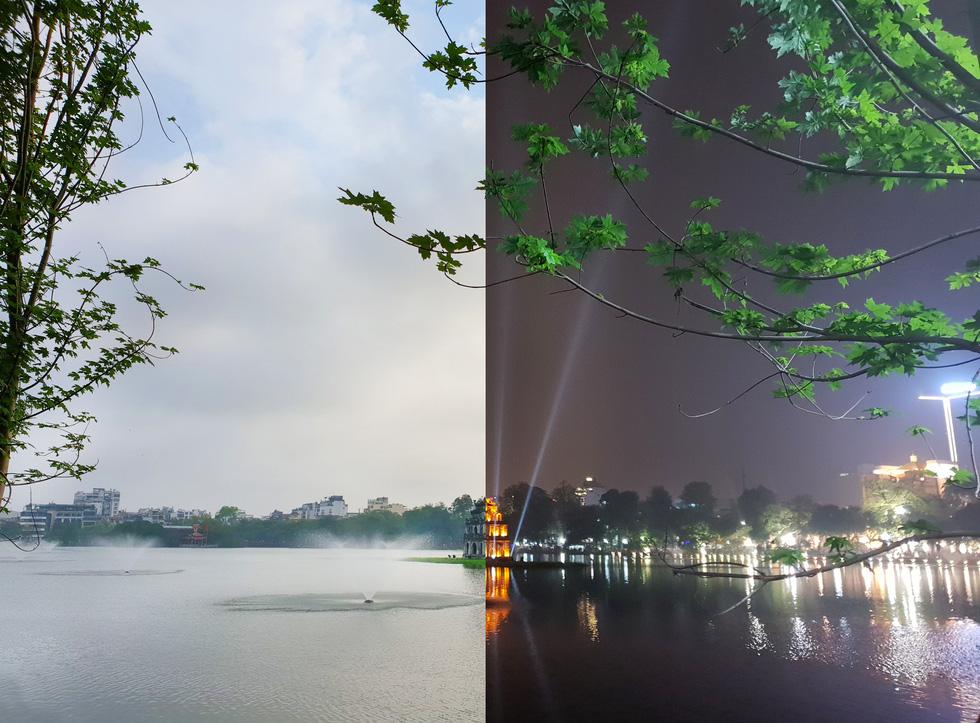 Hà Nội ngày và đêm đẹp lạ qua kiểu chụp 'Chuyện 69' - Ảnh 1.